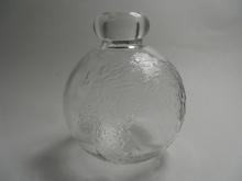 Tellus Bottle clear glass big