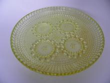 Grapponia -lautanen keltainen