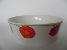 Illusia Serving Bowl red Arabia