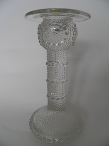 Grapponia Candleholder clear glass