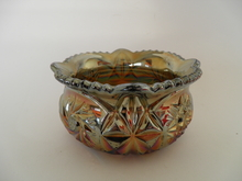Carneval glass Sugar Bowl