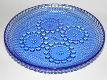 Grapponia -lautanen sininen