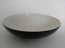 Oliivi -keittolautanen musta