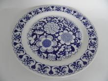 Gardenia sininen matala ruokalautanen