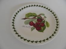 Pomona Portmeirion kakkulautanen Tumma kirsikka