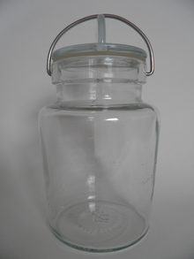 Glass Jar 3/4 l Ole Palsby