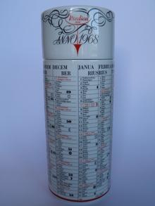 Kalenteripurkki 1968