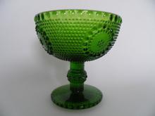 Grapponia -jalallinen malja vihreä