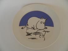 Moomin Plate Moomintroll on Ice 2-side