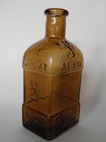 Alkon Whiskypullo 1930-luvulta, Wiiala  MYYTY