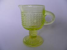 Barokki -kermakko keltainen Riihimäen lasi