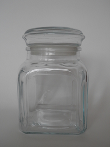 Kantti Jar 1 l clear glass