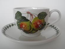 Pomona Portmeirion Tea Cup and Saucer Pearl