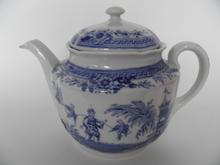 Singapore Tea Pot blue Arabia