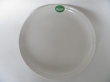 Olive Dinner Plate white new