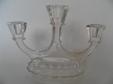 Art deco Candleholder Riihimäki Glass