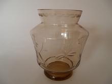 Vase brown Kumela