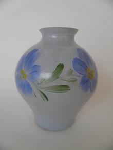 Vase lightblue