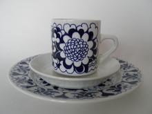 Gardenia kahvikuppisetti sininen Esteri Tomula