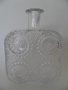 Grapponia Bottle clear glass