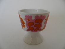 Egg cup red-pink Arabia GOG