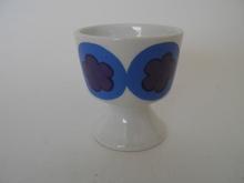 Egg cup blue Arabia GOG
