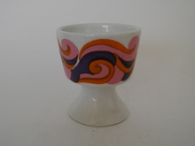 Egg cup lilac-red Arabia GOG