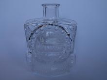 Locomotive Bottle clear glass