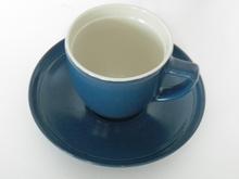 Oliivi -kahvikuppi sininen