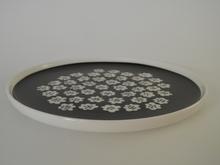 Puketti Plate 20 cm White Flowers Marimekko