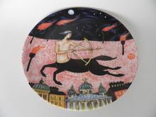Jousimies -horoskooppilautanen Dorrit von Fieandt Arabia