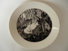 Moomin Plate Moomintroll Daydreaming