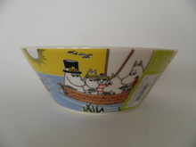 Moomin Bowl Sailing with Nibling & Tooticky