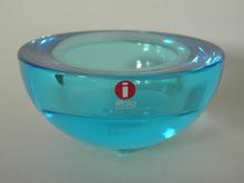 Ballo Tealight Candle Holder Blue Iittala