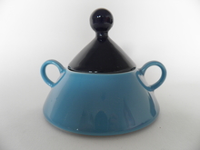 Harlekin Turquoise Sugar Bowl Arabia