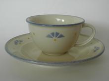 Tapio teekuppi ja aluslautanen