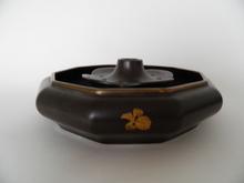 Bowl and Flowerholder brown Arabia