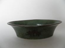 Bowl oval art deco Arabia