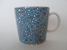 Kuplia -muki sininen Tony Alfström Arabia