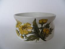Bowl Yellow Flowers Arabia