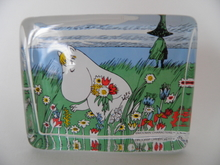 Snorkmaiden and the Midsummer Flowers - Glass card