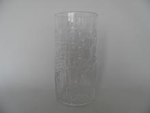 Flora Vase clear glass Oiva Toikka