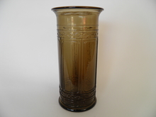 Arki -sarjan maljakko ruskea Riihimäen lasi