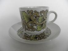 Hermes kahvikuppi ja lautanen Arabia