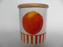 Appelsiini -purkki Arabia Minna L. Immonen