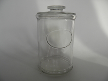 Kotilasi Jar clear Glass high