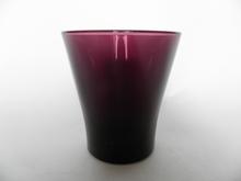 Juomalasi viininpunainen Riihimäen lasi MYYTY