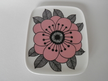 Kestit lautanen vaaleanpunainen Marimekko