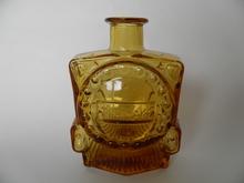 Locomotive Bottle amber