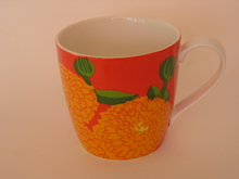 Primavera Mug orange-red